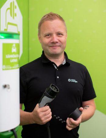 Keravan Energian tuote- ja kehityspäällikkö Kimmo Sulkanen