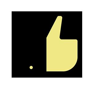 Tyytyväisyys ikoni