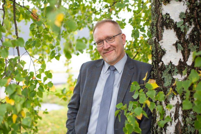 Keravan Energian toimitusjohtaja Jussi Lehto