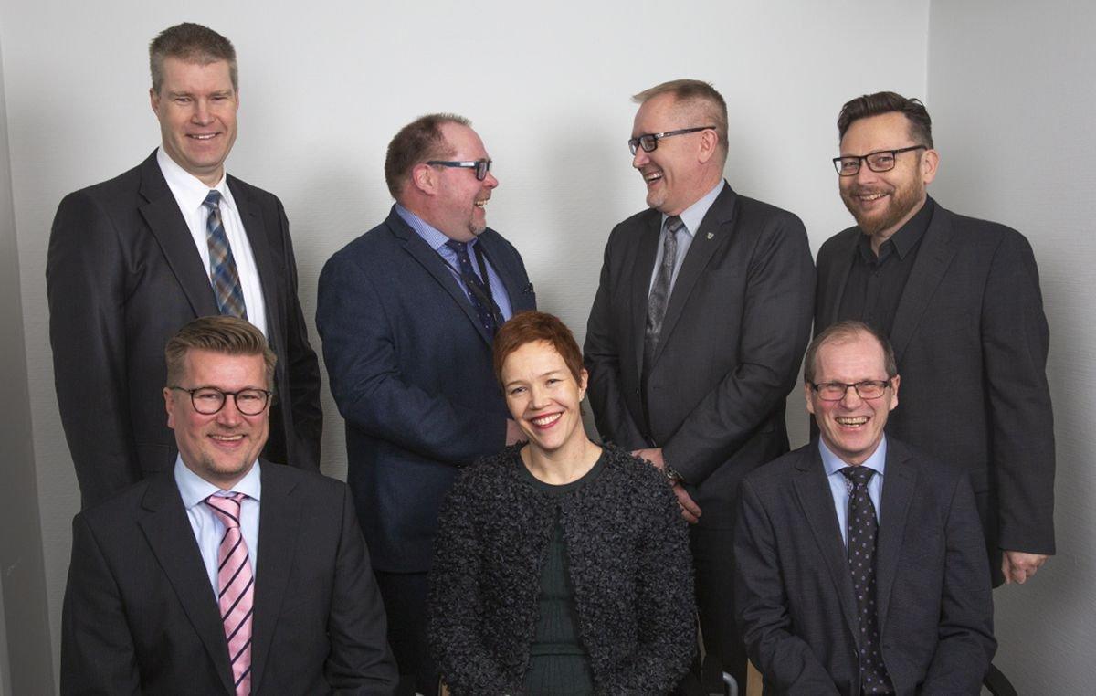 Keravan Energian johtoryhmä vuonna 2019